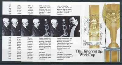 [17004] Antigua & Barbuda 2002 : 5x Good Very Fine MNH Sheet