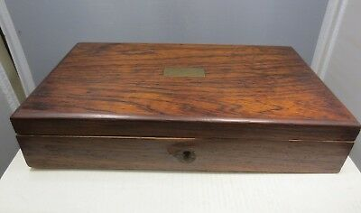 Antique Wooden Box 5 X 9&1/4 X 1&3/4 Inches