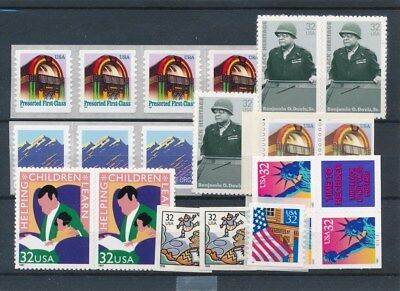 [17207] USA : Good Lot of Very Fine Adhesive Stamps