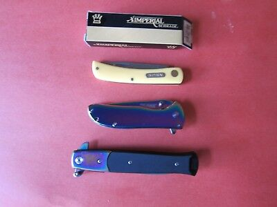 "3 Very Nice New Folders ""Made in China"" Knives   ""LOWER PRICE"""