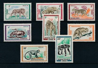 [37950] Congo 1972 Wild Animals Good set Very Fine MNH stamps