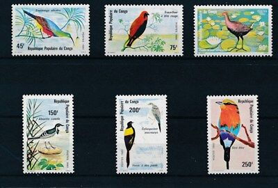 [37953] Congo 1980 Birds Good set Very Fine MNH stamps