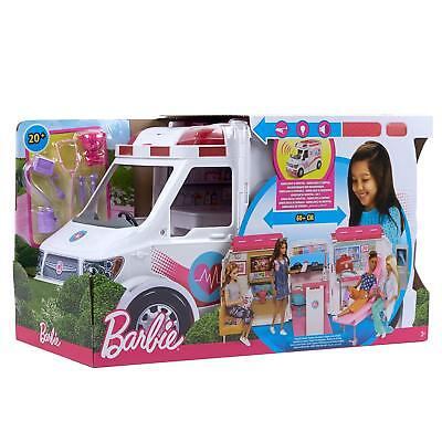 Barbie Care Clinic Van Large Rescue Vehicle Toys Kids BRAND NEW FACTORY SEALED