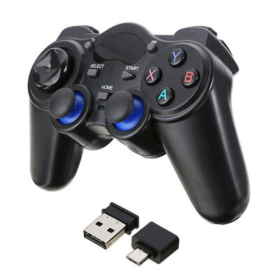2.4G Wireless Gaming Controller Gamepad for Android Tablets Phone PC TV Jl