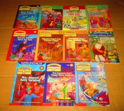 Adventures of the Bailey School Lot of 11-SC/CHAPTER/SCHOLASTIC- Bogeymen Don't