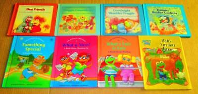 Jim Henson Muppets & Fraggle Rock Lot of 8-HC - What a Mess, Best Friends