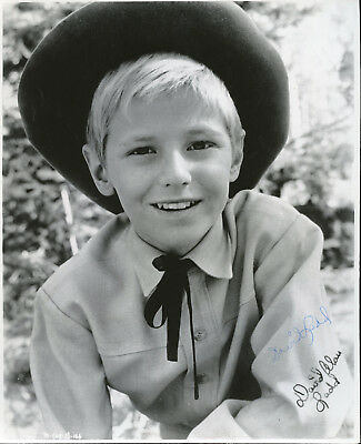 David Ladd Shane Actor Signed Photo Vintage As A Child