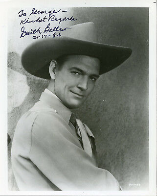 SMITH BALLEW 30s WESTERN ACTOR SIGNED PHOTO IN WESTERN GEAR