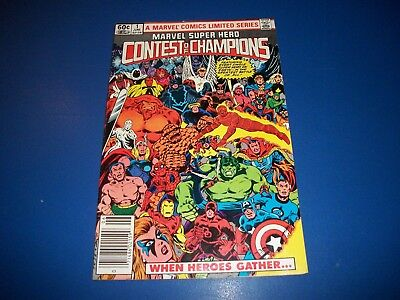 Marvel Super-Heroes Contest of Champions #1 Bronze age Vf- Beauty