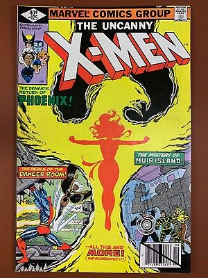 Uncanny X-Men #125 (1979 Marvel Comics) Bronze Age NO RESERVE