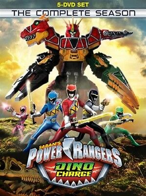 POWER RANGERS DINO CHARGE THE COMPLETE SEASON New Sealed 5 DVD Set Season 22