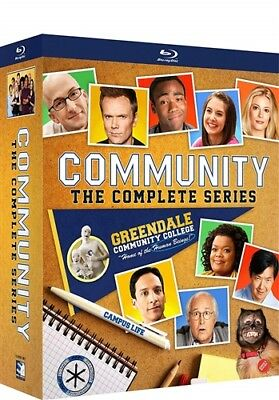 COMMUNITY COMPLETE TV SERIES Sealed New Blu-ray Seasons 1 2 3 4 5 6