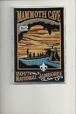 2017 National Jamboree Subcamp C-2 Mammoth Cave patch
