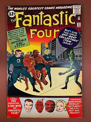 Fantastic Four #11 (1963 Marvel) 1st appearance of Impossible Man Silver Age
