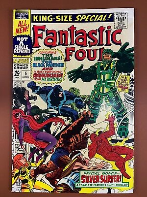 Fantastic Four Annual #5 (1967 Marvel) 1st appearance of Pyscho Man NO RESERVE