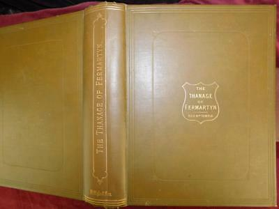 THANAGE of FERMARTYN by TEMPLE/FORMARTINE ABERDEENSHIRE SCOTLAND/RARE 1894 1st