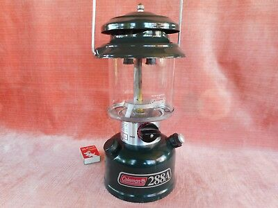 Old Rare Vintage Green Coleman Lamp Model 228A Pressure Lantern Made In U.s.a.