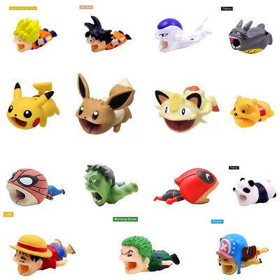Cable Accessory Cable Animal Bites Cartoon USB Charger Data Cable Cord Protector