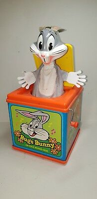 Vintage 1976 Mattel Bugs Bunny In The Music Box - Usa