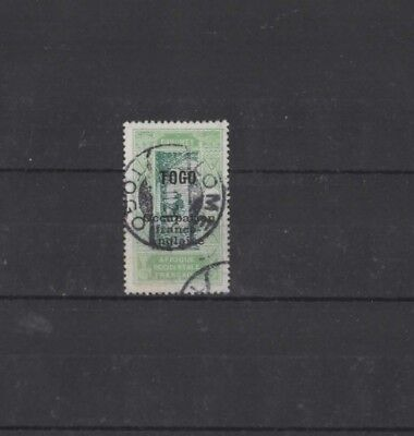 TOGO , 1916, SG23  TYPE 6 5c GREEN AND LIGHT GREEN, USED......G.C.V..