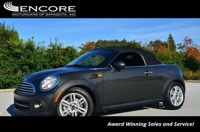 2012 Mini Roadster W/Cold Weather Package 2012 Cooper Roadster Convertible 43,432 Miles With warranty-Trades,Financing & S