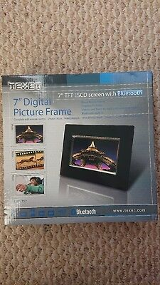 """Texet 7"""" Digital Picture Frame Bluetooth TFT LSCD screen"""