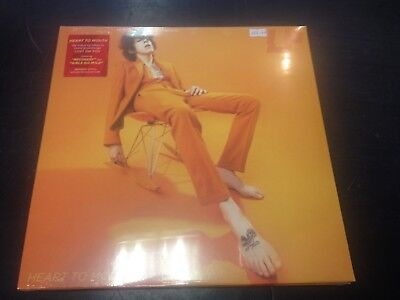 Lp - Heart To Mouth Orange Vinyl Lp + Download New Mint Sealed 2019