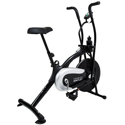 Charles Bentley Air Resistant Exercise Bike Cycle Gym Spin Cardio Sensor