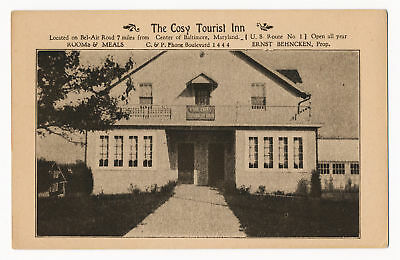 The Cosy Tourist Inn, Baltimore, Maryland