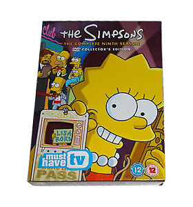 The Simpsons - Series 9 - Complete (DVD, 2007, 4-Disc Set)