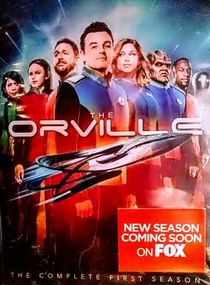 ***THE ORVILLE*** The Complete First Season one  (4 DVD discs) BRAND NEW!!!