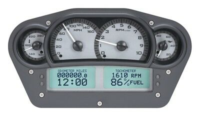"Dakota Digital Universal 6 x 10.75"" Competition Analog Gauge System VHX-1100-S-W"