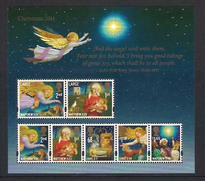 GB 2011 Commemorative Stamps~Christmas~ M/S~Unmounted Mint Set~UK