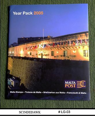Malta - 2005 Year Pack Complete Set- 35 Stamps And 5 Min/sht Mnh