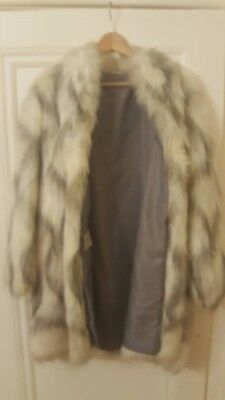 Astraka Fake Fur Coat Size 12/14