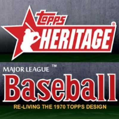 2019 Topps Heritage Base Card Set 400 Cards #1-400  Free Shipping