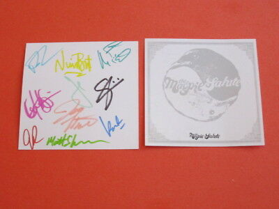 Magpie Salute - S/T CD - SIGNED INSERT - PROMO ONLY - RARE black crowes