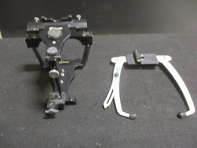 Used Denar Dental Laboratory Articulator w/ Facebow for Occlusion Analysis