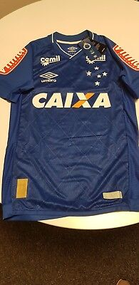 Cruzeiro EC Jersey Home Authentic Player Issue 2017 Size S