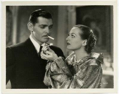 Joan Crawford & Clark Gable in Chained 1934 Vintage Production Still Photograph