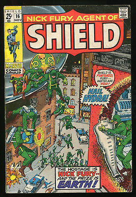 (Silver Age) Nick Fury Agent Of SHIELD #16 VG