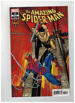 AMAZING SPIDER-MAN #11  1st Printing - Conan Variant Cover  / 2019 Marvel Comics