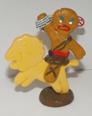 Gingy Gingerbread Man Figurine 3 inches tall Plastic Figure from Shrek Movie