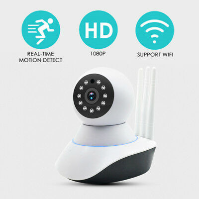 1080P Hd Outdoor Wireless Wifi Ip Camera Pan Tilt Network Night Security Webc JM