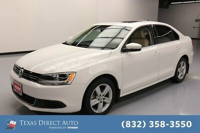 2014 Volkswagen Jetta TDI 4dr Sedan Texas Direct Auto 2014 TDI 4dr Sedan Used Turbo 2L I4 16V Automatic FWD Sedan