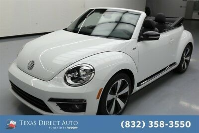 2015 Volkswagen Beetle - Classic R-Line Texas Direct Auto 2015 R-Line Used Turbo 2L I4 16V Automatic FWD Convertible