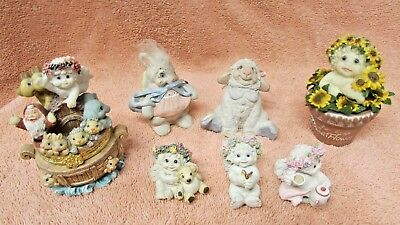Collectible Dreamsicles Figurines Lot of 7 Assorted Sizes #17