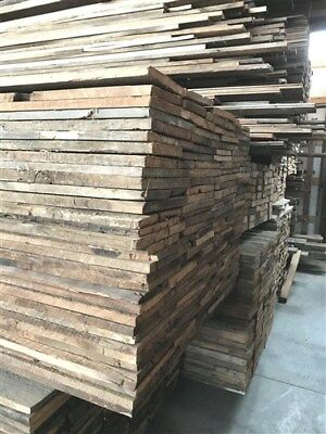 Reclaimed Brown Board Barn Wood Hardwood Pine Wall Siding Panels Planks Lumber