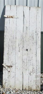 Vintage Wood Barn Door Reclaimed Lumber Architectural Salvage Hardware Siding v