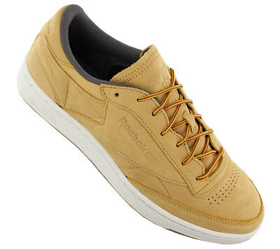 NEU REEBOK CLUB C 85 Leather WP Schuhe Leder Braun BS5205 SALE